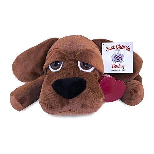 Just Chill In Pets Heartbeat Puppy Toy Separation Anxiety Pillow For